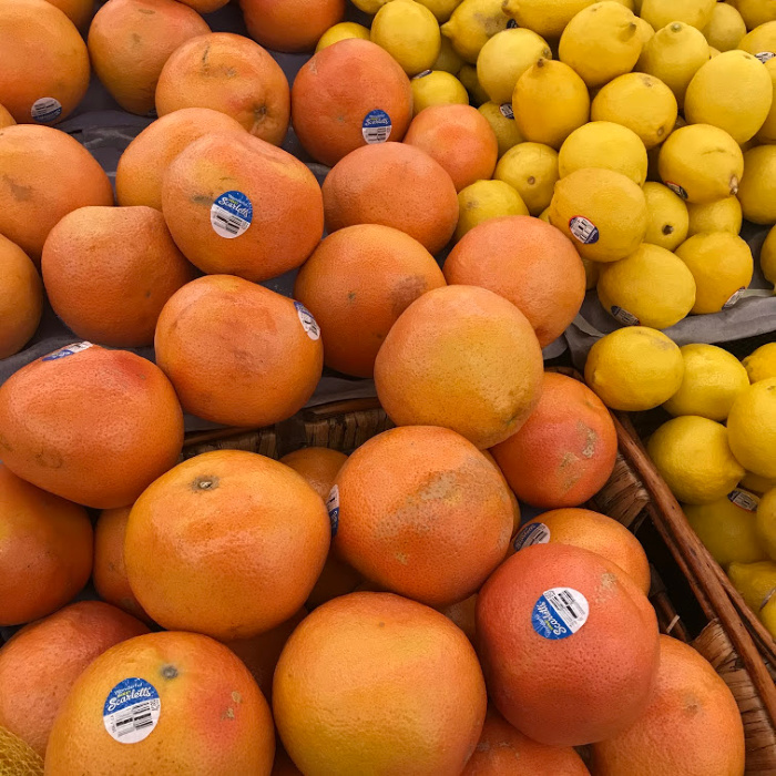 January is a great month to stock up on seasonal fruit like grapefruit