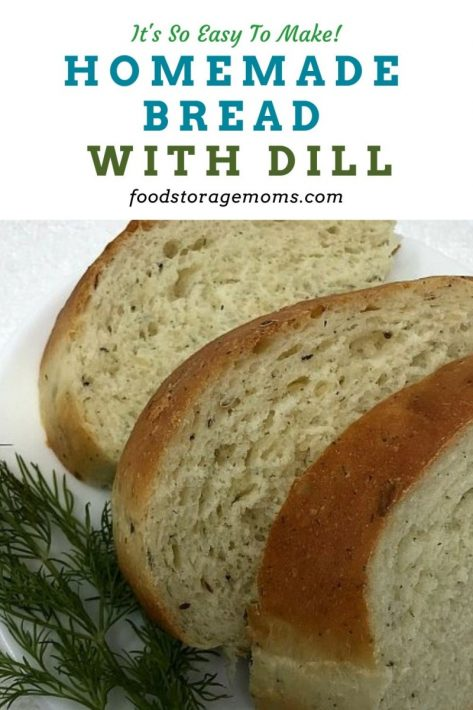 Homemade Bread With Dill