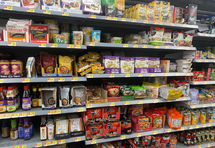 February Asian Foods on sale