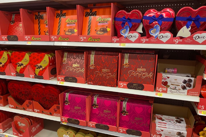 February Valentine's Day Candy