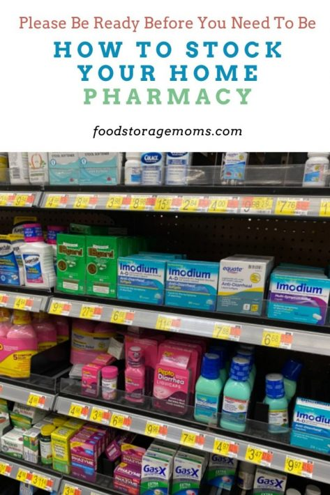 How To Stock Your Home Pharmacy