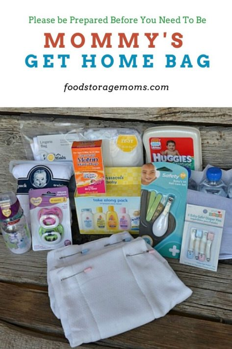 Mommy's Get Home Bag