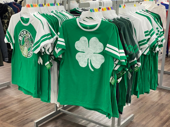 St. Patrick's Day shirts on sale