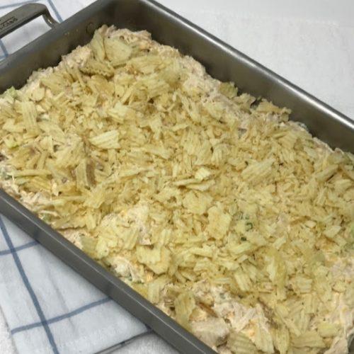 The Best Hot Chicken Salad Recipe Ever Food Storage Moms