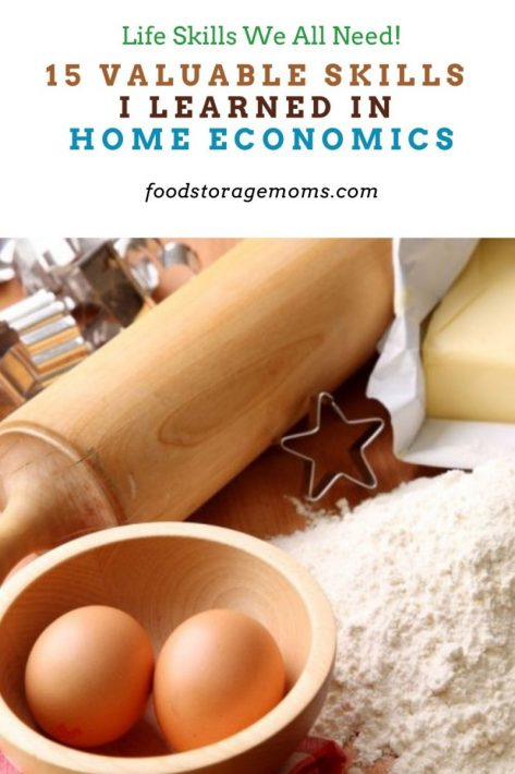 15 Valuable Skills I Learned In Home Economics