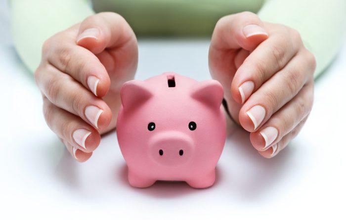 Save Money Pink Piggy Bank