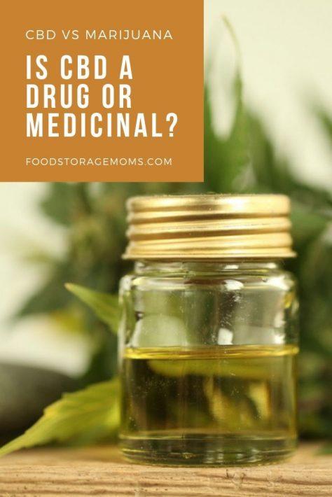 CBD VS Marijuana: Is CBD a Drug or Medicinal?
