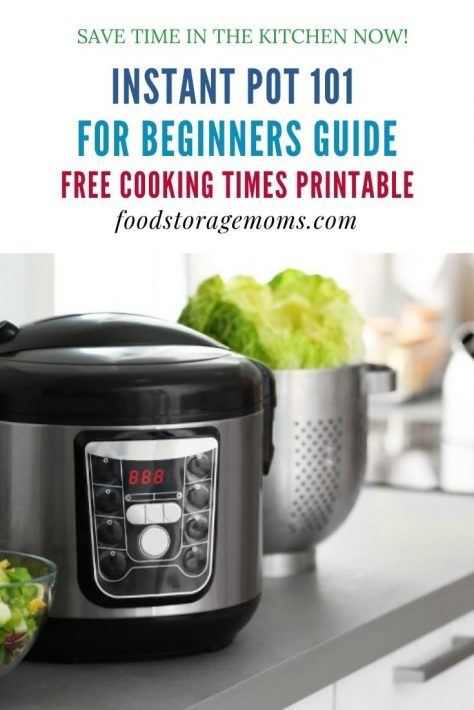 Instant Pot® 101 for Beginners Guide