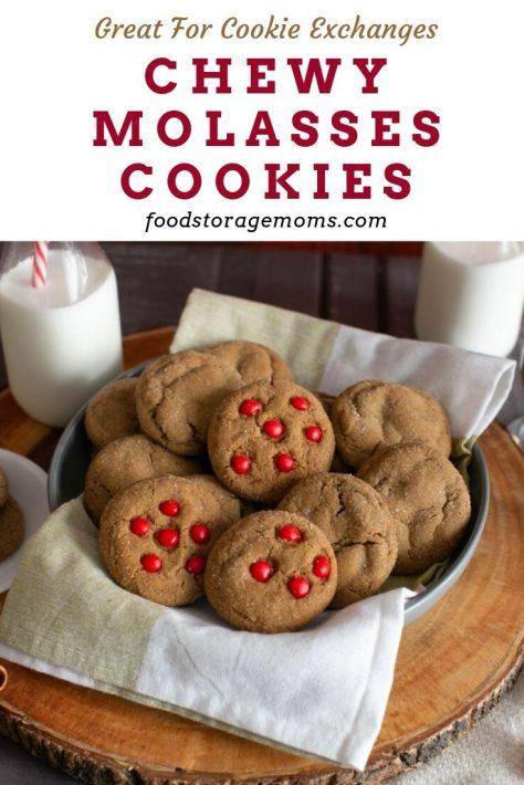 Homemade Molasses Cookies