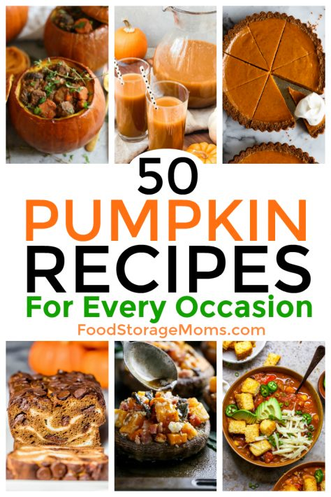 50 Pumpkin Recipes For Every Occasion
