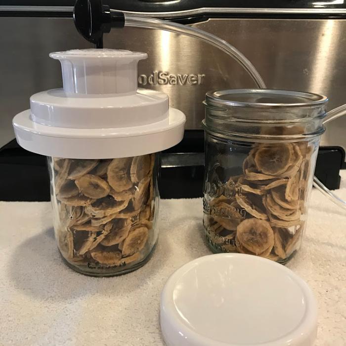 Dehydrating Bananas