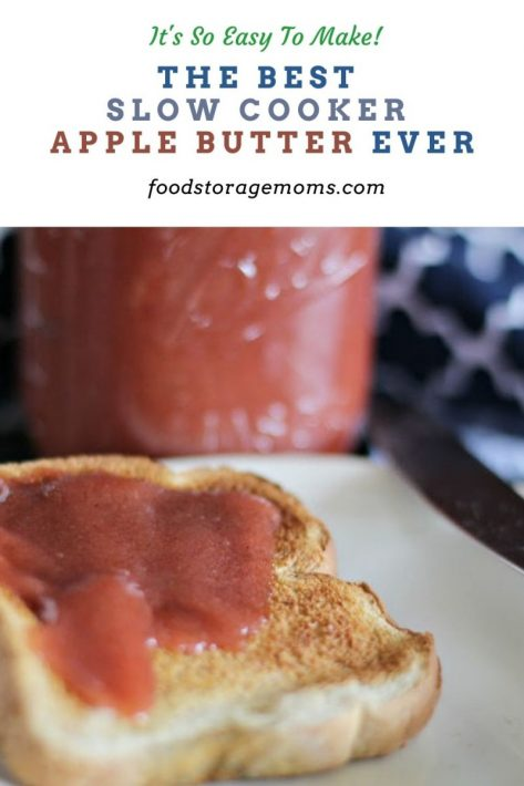 The Best Slow Cooker Apple Butter Ever