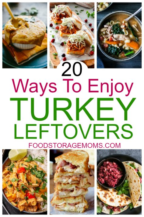 20 Ways To Enjoy Turkey Leftovers