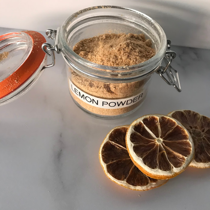 Ground Lemon Powder