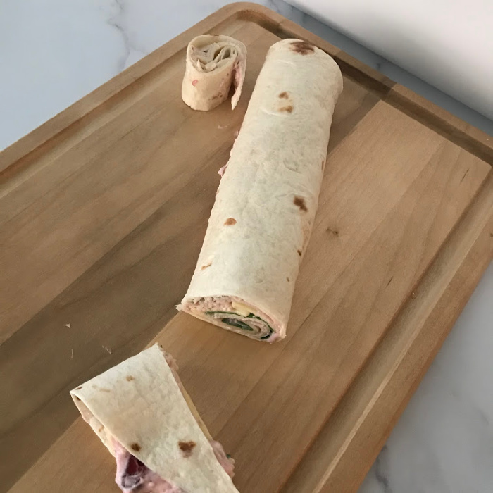 How To Make Turkey- Cranberry Roll-Ups