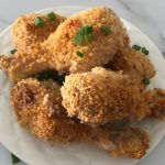 Classic Oven Fried Chicken Legs