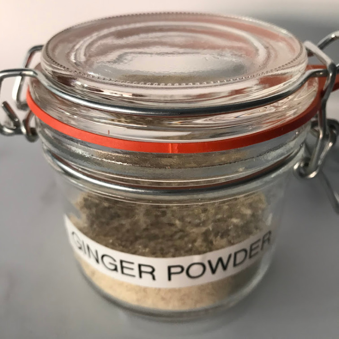 Ginger Powder-How To Make It And Use It