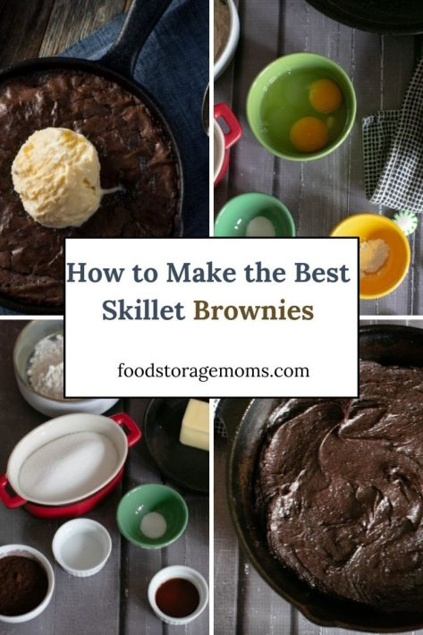 How to Make the Best Skillet Brownies in Cast Iron