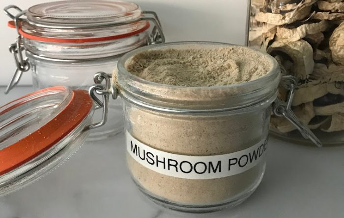 Mushroom Powder-How To Make It And Use It