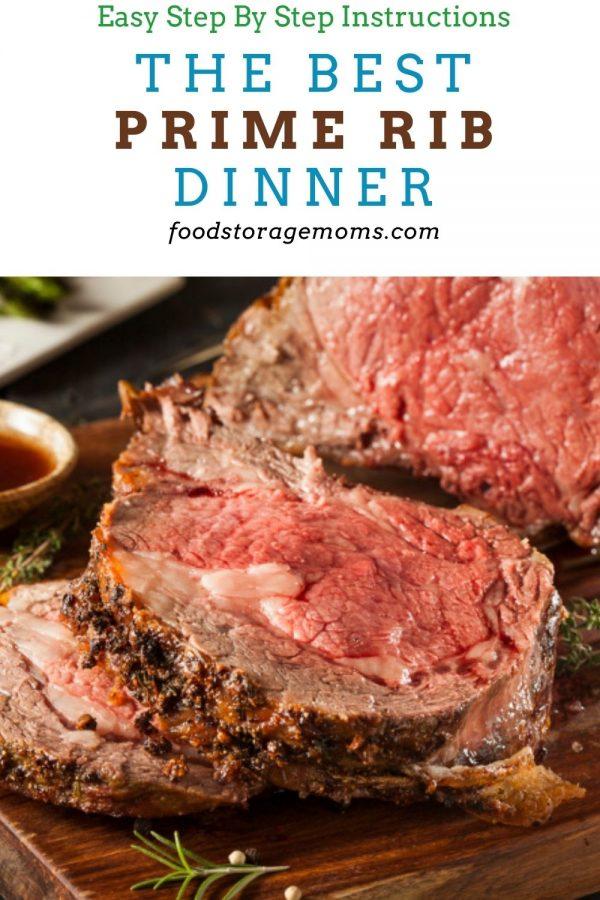 The Best Prime Rib Dinner