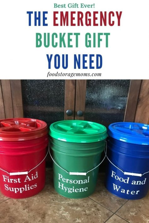 The Emergency Bucket Gift You Need