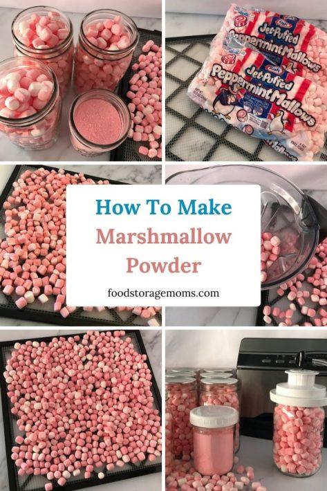 How To Make Marshmallow Powder