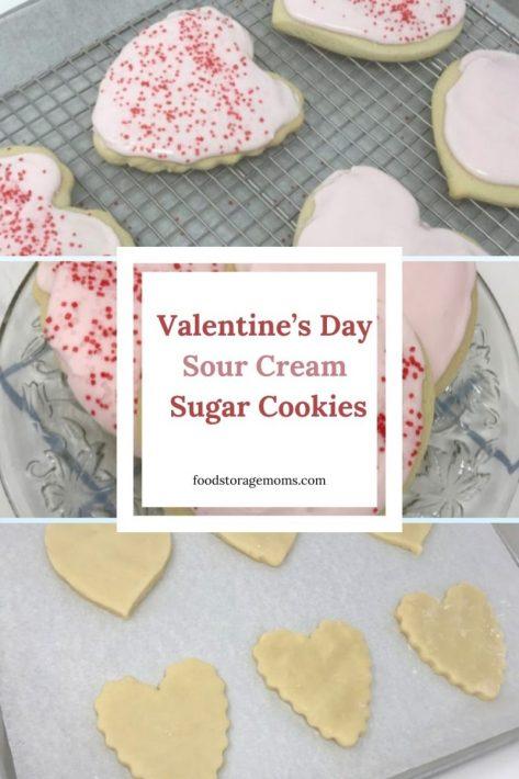 Valentine's Day Sour Cream Sugar Cookie Recipe