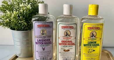 Witch Hazel Bottles