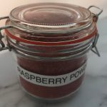 Raspberry Powder in a Jar
