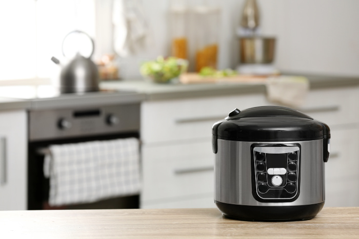 Instant Pot sitting on the counter