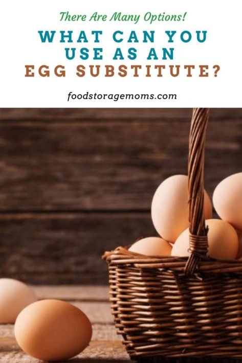 What Can You Use as an Egg Substitute