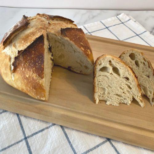 How To Make A Sourdough Starter + Bread