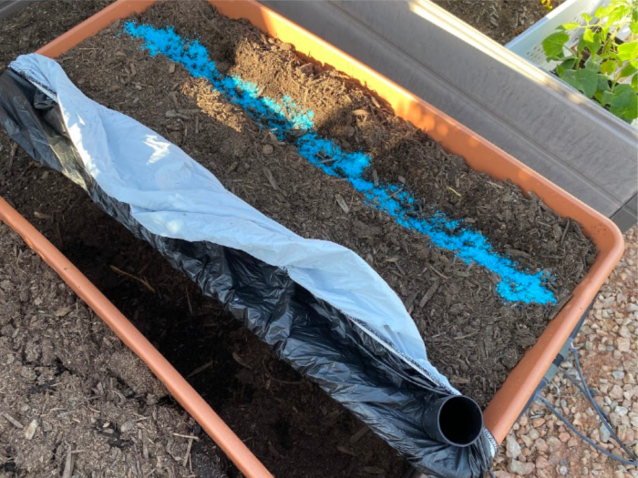 Fertilize the soil