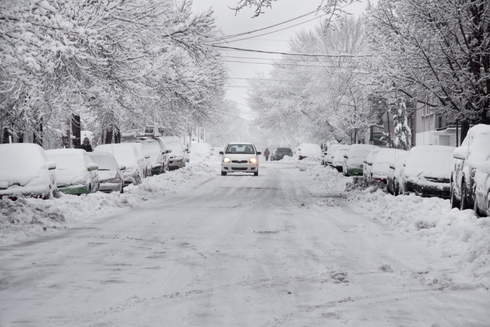 Winter Storm Power Outage