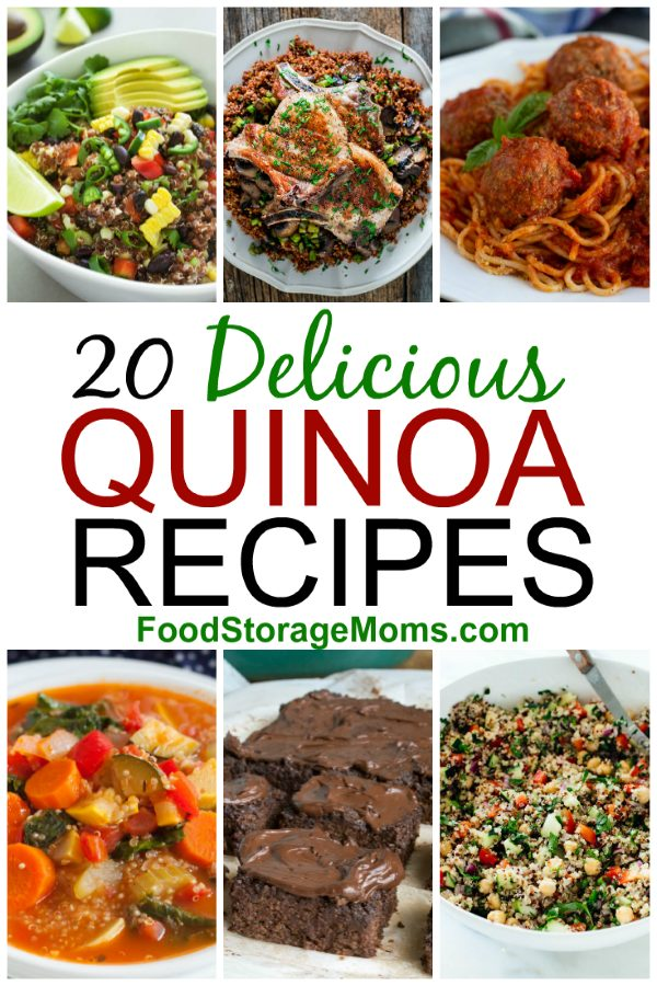 20 Delicious Quinoa Recipes