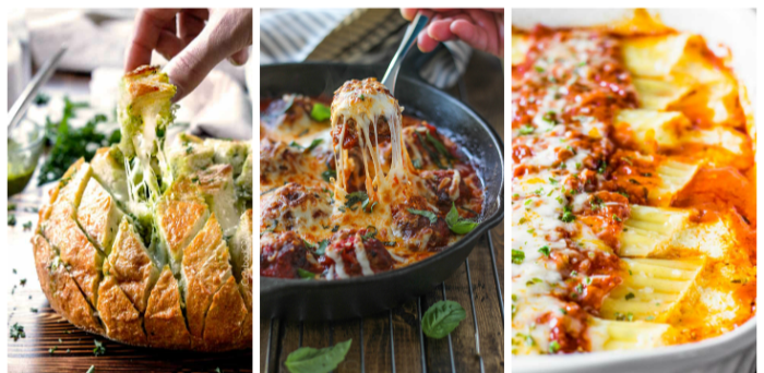 20 Incredibly Cheesy Recipes