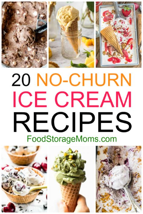 20 No-Churn Ice Cream Recipes