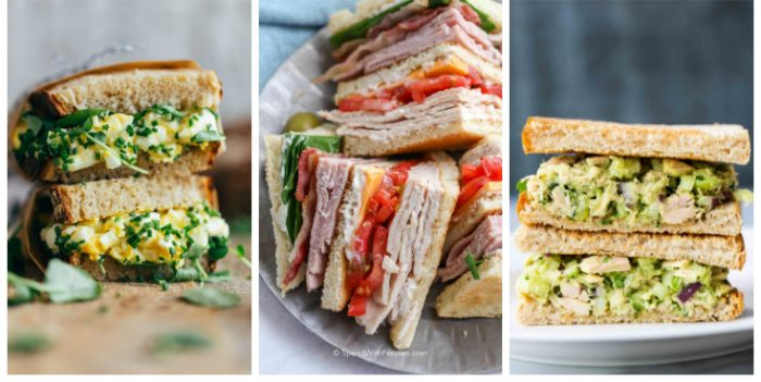20 Tasty Sandwich Recipes
