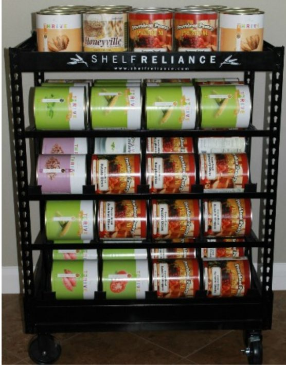 Food Storage Shelves