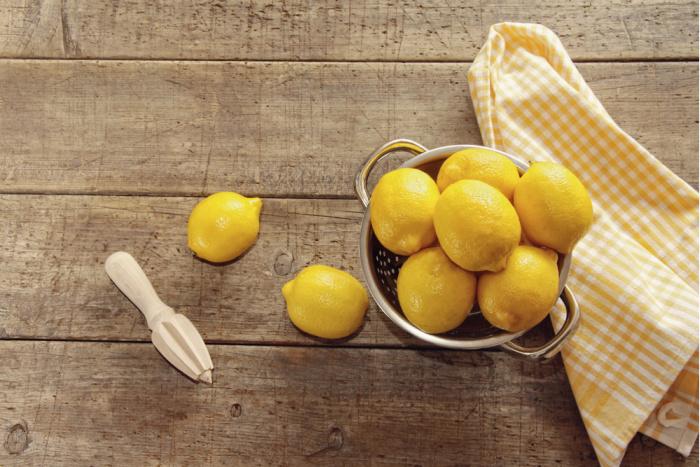Lemons ready to juice