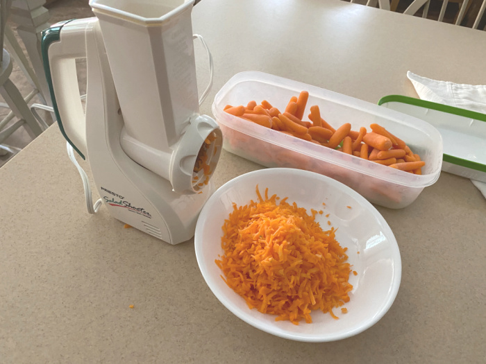 Grate The Carrots