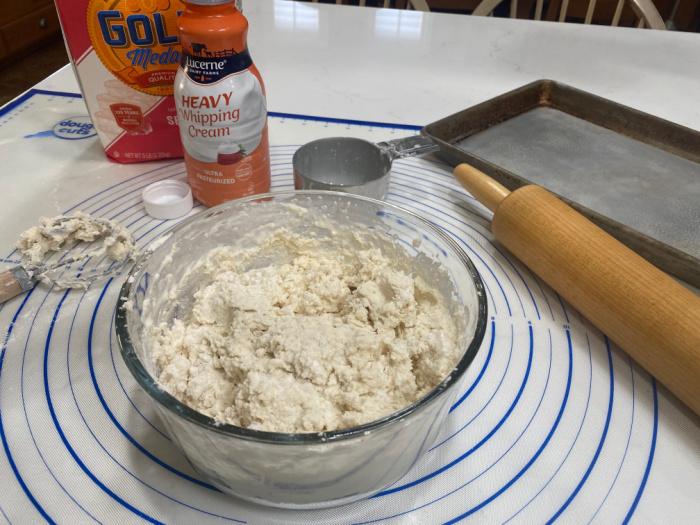 2 Ingredient Biscuit Recipe