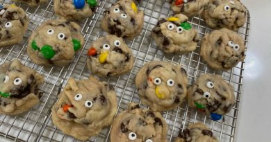 Halloween Monster Cookies-A Family Favorite