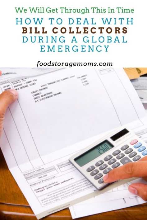 How to Deal with Bill Collectors During a Global Emergency