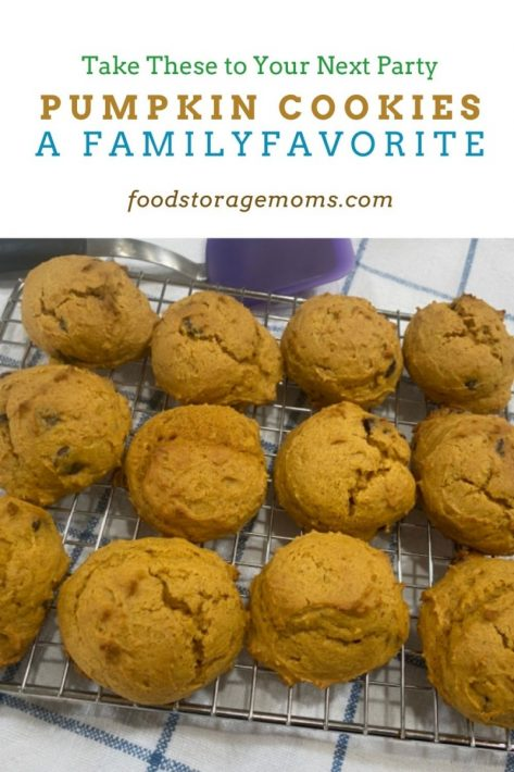 Pumpkin Cookies-A Family Favorite