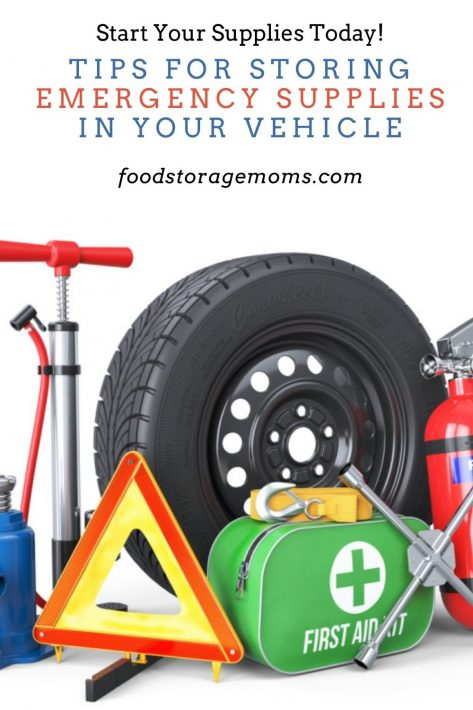 Tips For Storing Emergency Supplies in Your VehicleTips For Storing Emergency Supplies in Your Vehicle