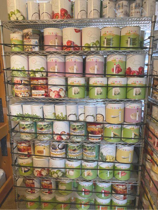 Tips On Storing Food Storage Safely