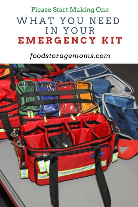 What You Need in Your Emergency Kit