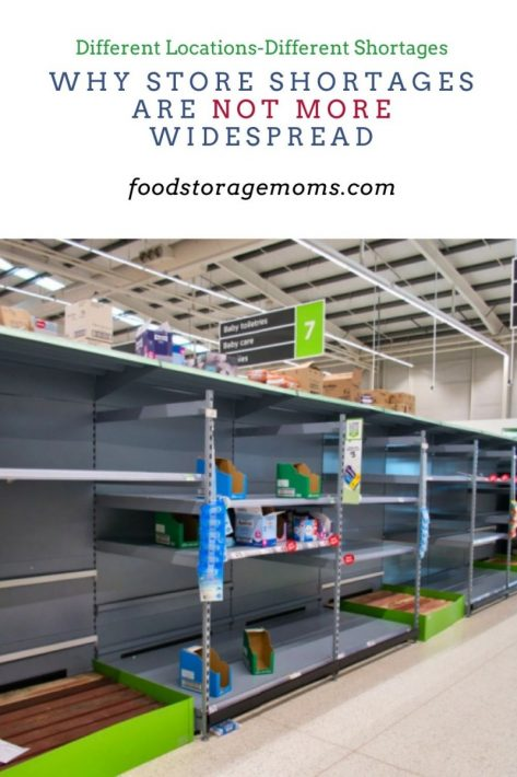 Why Store Shortages are Not More Widespread