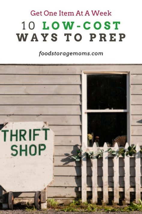 10 Low-Cost Ways to Prep